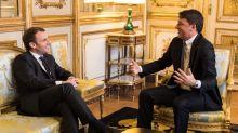 """Ue, Renzi da Macron: """"Siamo argine per populisti come Salvini e Le Pen"""""""