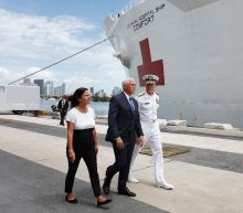 US hospital ship on mission to aid Venezuela refugees