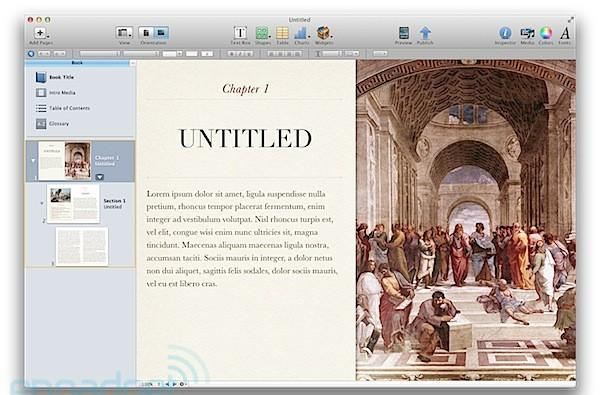 Apple announces free iBooks Author OS X app for publishing books to the App Store