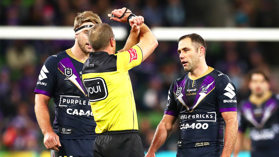 NRL hits back at 'over the top' referee criticism
