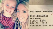 Mom accuses Southwest Airlines employee of publicly mocking her 5-year-old's name
