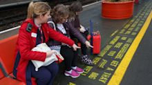 It's A Wonderful Life script painted at rail stations in mental health campaign