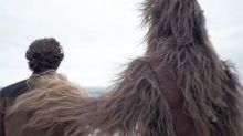 Han Solo hace su debut con un primer avance antes del lanzamiento del tráiler completo