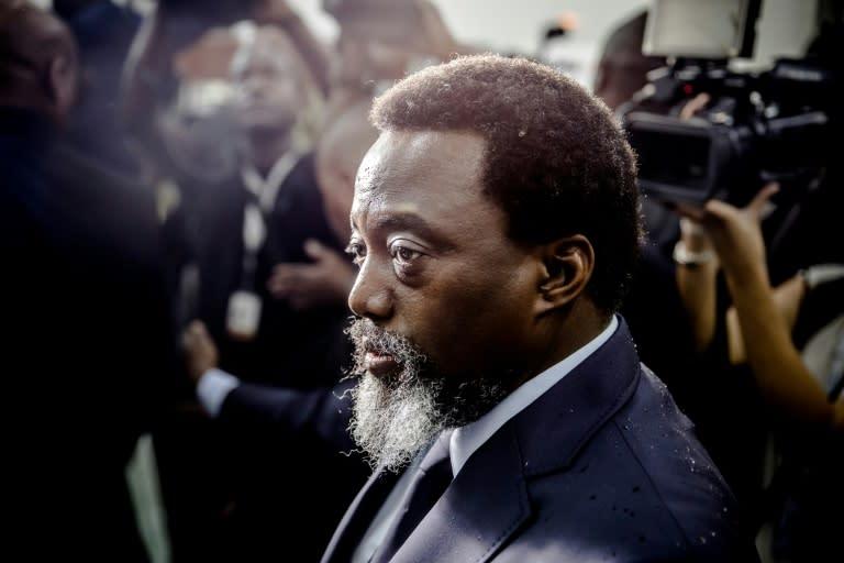 DR Congo president, predecessor meet over coalition tension