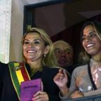 Jeanine Anez: stand-in president vowing to 'pacify' Bolivia