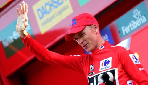 Radsport: Vuelta: Froome holt Gesamtsieg und schafft das Double