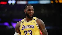 LeBron James tried out TikTok and showed off some intense dad energy