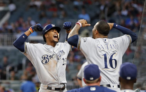 The Brewers have every reason to flex in 2017. (AP Photo)