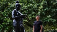 Sculptor's black 'everywoman' erected on public art walk in London