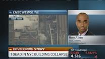 Gas leak possible cause for NY explosion