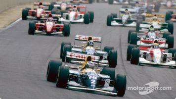 El día que Senna ganó y vivió un emotivo reencuentro con Fangio