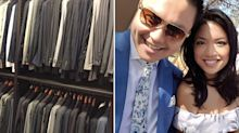 Why this lawyer is giving away 82 designer suits