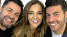 Paula Echevarría no se separa de Miguel Torres ni en sus sesiones de maquillaje
