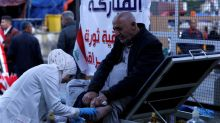 Iraqi nurse spends her weekends stitching wounds at protest site