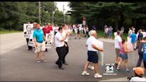Market Basket Workers Protest Outside Job Fair