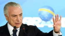 Brazil's president rejects graft charge