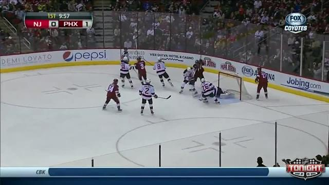 New Jersey Devils at Phoenix Coyotes - 01/18/2014