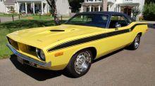 Own A Legit 1972 Plymouth 'Cuda Survivor For Under $33K