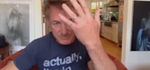 Sean Penn showing his ring. (NBC)