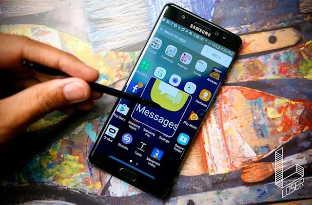 Samsung's 2016 went up in smoke