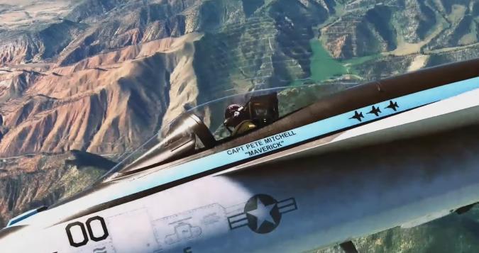 Microsoft Flight Simulator Top Gun expansion