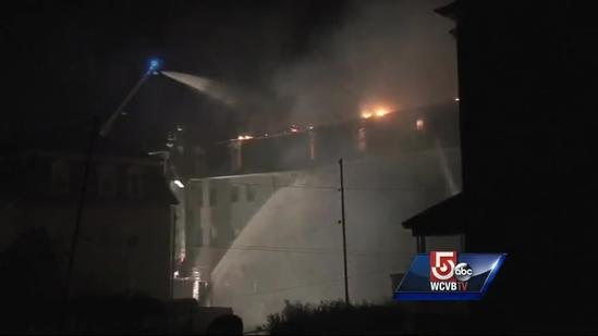 Fall River residents rescued from intense flames