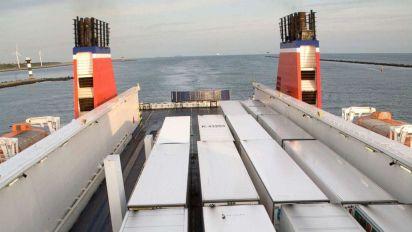 16 people found hidden in sealed trailer aboard ferry