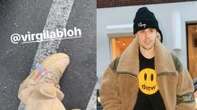 Justin Bieber questioned by police for apparent security tag on shoe: 'It's just fashion'