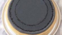 台灣限定!Lady M 芝麻鐵觀音千層蛋糕 鐵灰色的超時尚