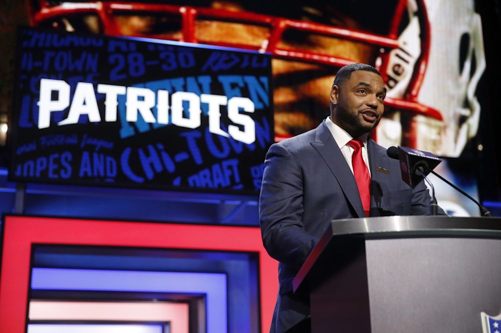 Richard Seymour is on a different kind of stage now. (AP)