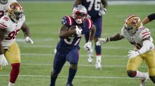 Damien Harris among 10 Patriots listed on injury report