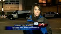 Details to be released on officer-involved shootings