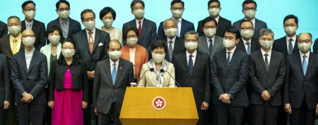 北京嚴控香港