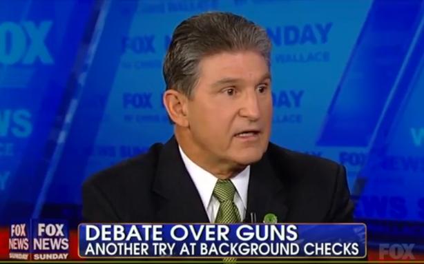 Joe Manchin Wants to Bring Gun Reform Back to the Senate