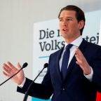 Austria's Kurz wrangles with far right and risk of parliamentary axe