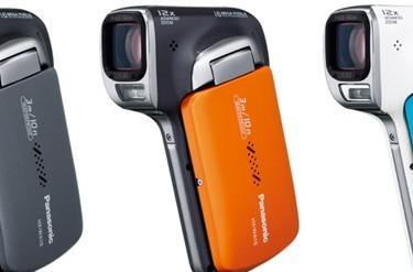 Panasonic resurrects Sanyo's pistol-grip camcorders, trots out three new models