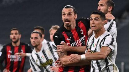 AC Milan sends Juve out of top 4 in Serie A