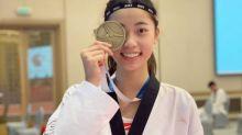 再傳捷報!跆拳道19歲選手羅嘉翎擊敗南韓 晉級8強賽
