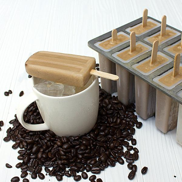 """<p>This iced coffee popsicle might just replace your afternoon Starbucks run—and it takes mere minutes to whip up. All you need? Three cups of leftover brewed coffee, ¾ cup half-and-half, and ½ cup of sugar. Blend until the sugar dissolves, pour into a mold, freeze, and enjoy. PS, score that classic popsicle mold on <a href=""""http://www.amazon.com/Prepworks-Progressive-International-PLP-1-Freezer/dp/B0000CF7H6/ref=sr_1_1?ie=UTF8&qid=1438291161&sr=8-1&keywords=Prepworks+from+Progressive+International+PLP-1+Freezer+Pop+Maker"""" rel=""""nofollow noopener"""" target=""""_blank"""" data-ylk=""""slk:Amazon"""" class=""""link rapid-noclick-resp"""">Amazon</a> for less than $20. (Credit: <a href=""""http://www.theblackpeppercorn.com/2012/08/iced-coffee-popsicle/"""" rel=""""nofollow noopener"""" target=""""_blank"""" data-ylk=""""slk:The Black Peppercorn"""" class=""""link rapid-noclick-resp"""">The Black Peppercorn</a>)</p>"""