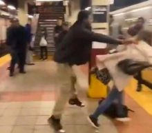 Trump retweets video posted by white supremacist blaming subway attack on Black Lives Matter