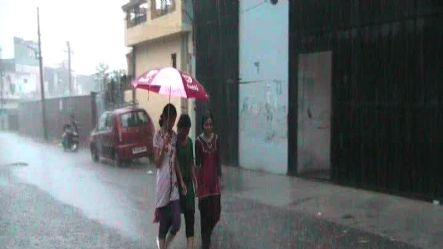 Change in weather, showers slash temperatures