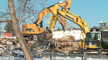 Future of Fairview Arena unknown after roof collapse, demolition
