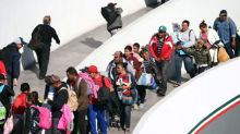 Asylum requests in EU fall from record highs, jump in U.S.: OECD