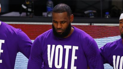LeBron won't address L.A. sheriff's challenge