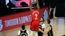 Basket - NBA - NBA : Toronto domine Brooklyn et passe en demi-finales de Conférence