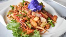 Travel With Food: Fish Maw Salad