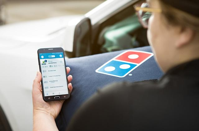 Domino's GPS-powered pizza tracking is available in many more places