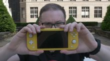 Trying out the Nintendo Switch Lite actually surprised me
