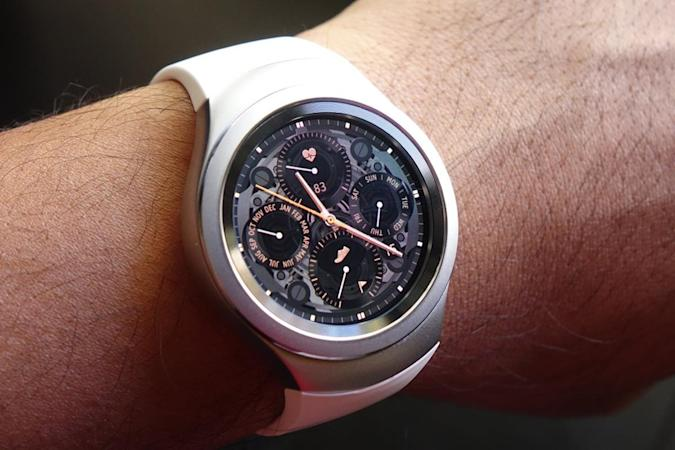 Samsung app gives you a virtual Gear S2 try-on