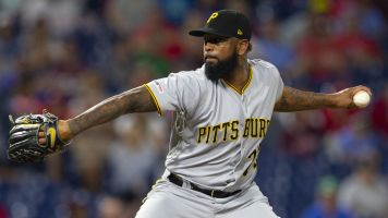 Pirates closer arrested for soliciting a child